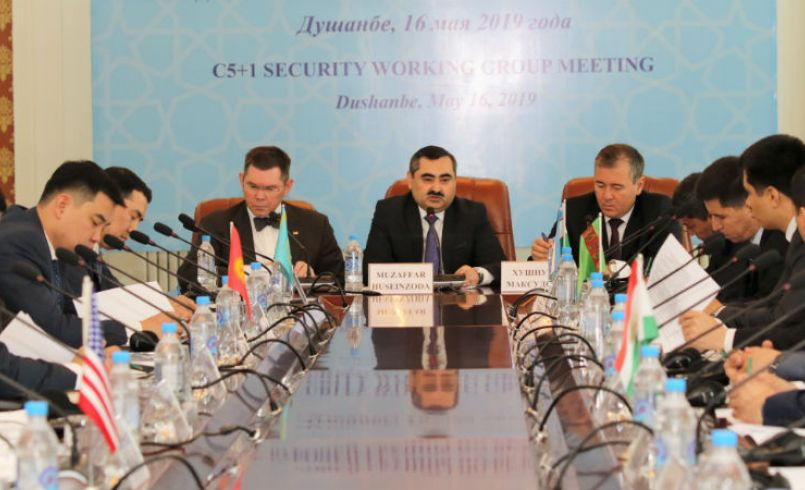 C5+1 Security Working Group Meets in Dushanbe