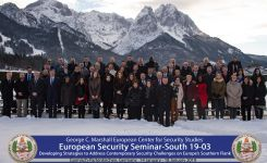 Marshall Center Seminar Examines Threats to Europe from the MENA Region