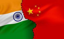 China and India border