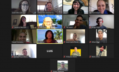 Group discussion on Zoom