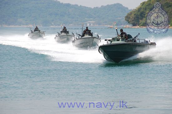 Sri Lankan Navy small boats