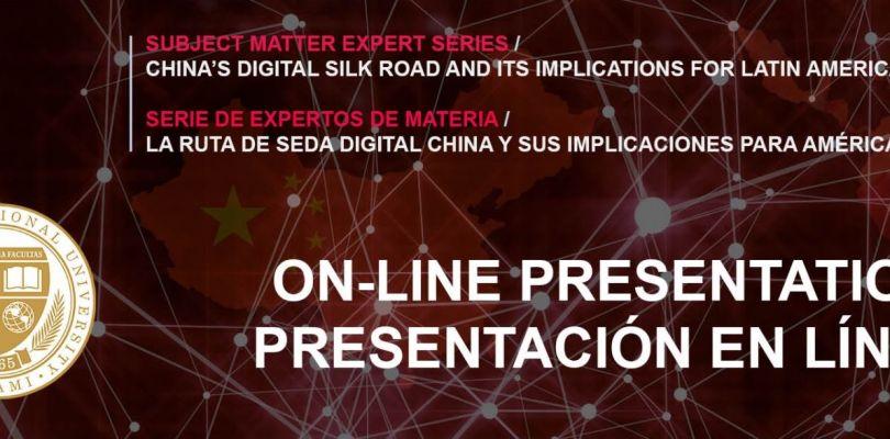 China's Digital Silk Road Event