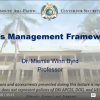 Crisis Management Framework