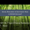 social resilience, counterterrorism