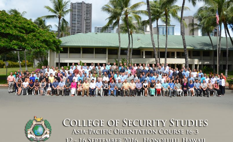 Asia-Pacific Orientation Course 16-3 group photo