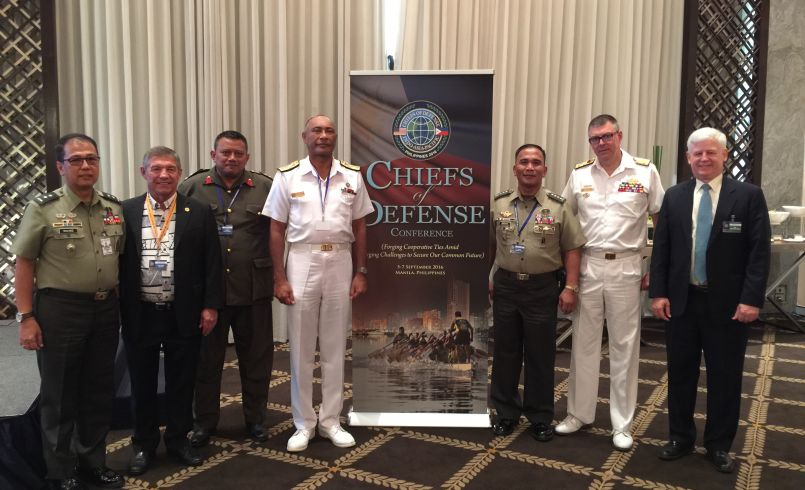 DKI APCSS Alumni at Chiefs of Defense Conference
