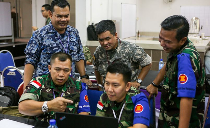 Structuring ASEAN military involvement in disaster management and the ASEAN Militaries Ready Group