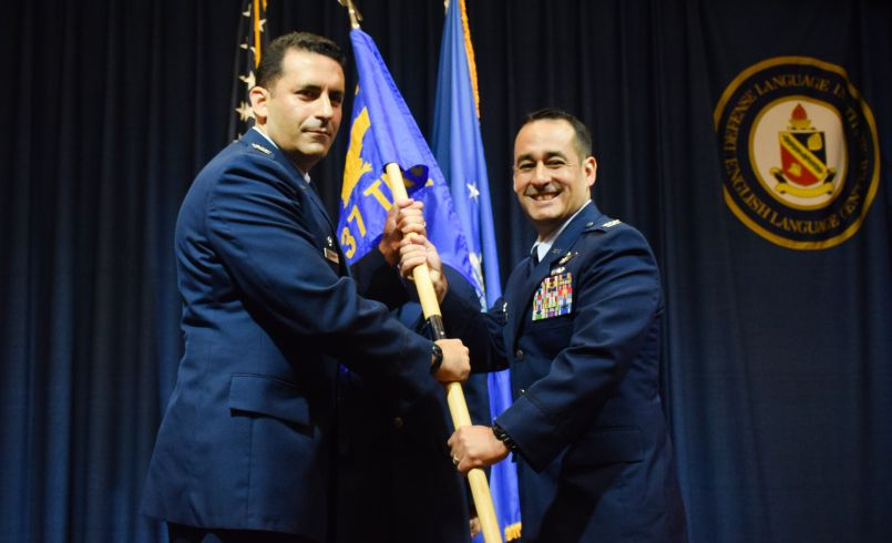 Col. Gillis Assumes Command