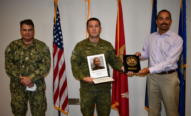 Lt Col Vincent Sowa Award