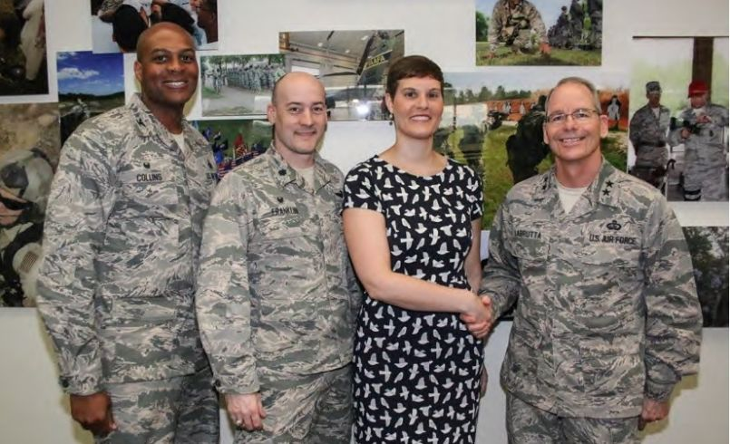 Carraway selected as the 2016 Air Force International Affairs Excellence awardee