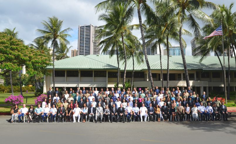 Comprehensive Security Responses to Terrorism course 18-1 group photo