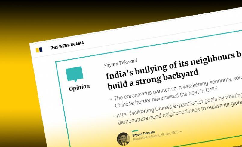 India's bullying