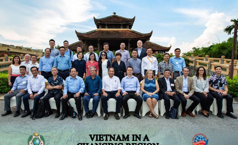Vietname workshop group photo