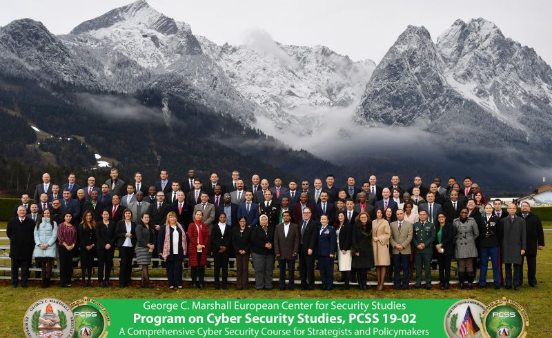 PCSS 19-02 Graduates 78 Cyber Experts from 52 Nations