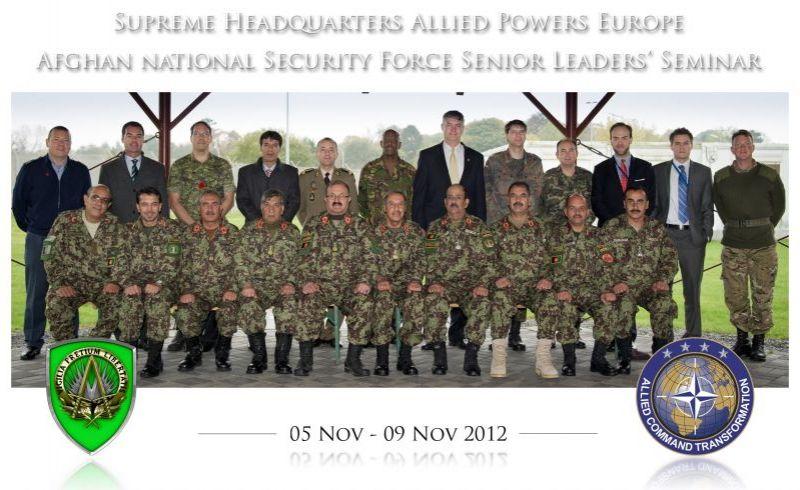 Afghan Seminar 2012