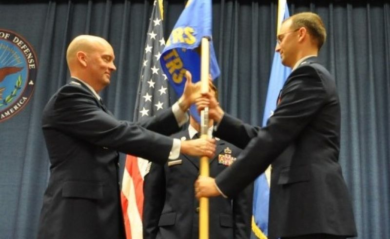 332 Training Sqadron Change of Command