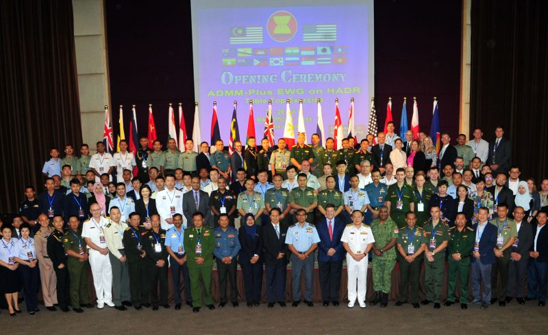 Group photo of ASEAN HADR exercise