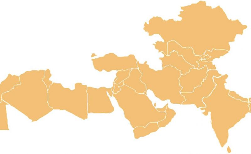 Nesa Center Region Map