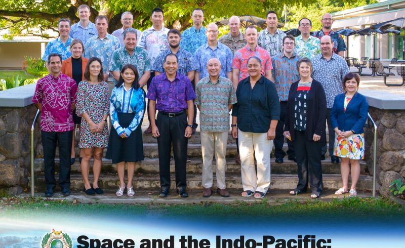 "More than 20 security professional and academics attended the Daniel K. Inouye Asia-Pacific Center for Security Studies (DKI APCSS) one-day workshop Jan. 30 entitled ""Space and the Indo-Pacific: Issues, Challenges and Cooperative Priorities."""
