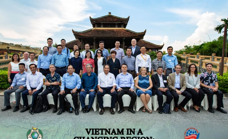 Vietname workshop group photo