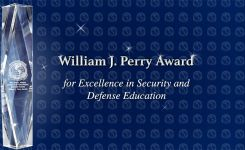 Perry Award for Excellence in Security and Defense Education