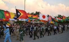 International Flag Formation Vangard