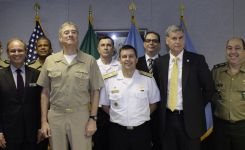 Brazilian War College Visits the Perry Center