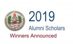 2019 Alumni Schollars Winners