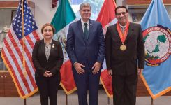 Perry Center Awards Honors Dr. Linda Castro Gainza and Peru's CAEN