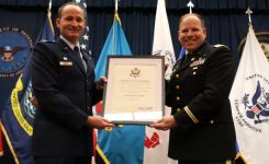 Lt. Col. Jeffery Steffen retirement