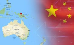 china and oceania