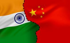 China and India border
