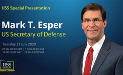 SecDef Mark Esper