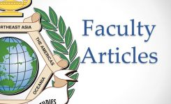 Faculty Articles