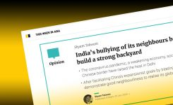 India's bullying