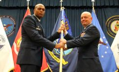 Raesmann Assumes Command of the 637TRG (DLIELC)