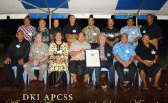 Original Tonga DKI Alumni Association upon receiving their charter.