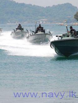 Sri Lankan Navy small boats