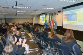 Visit by Paraguay's Institute for High Strategic Studies (IAEE)