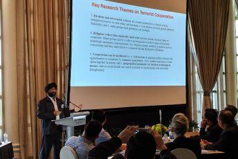 Dr. Bilveer Singh, Professor, National University of Singapore, discusses extremist networks.